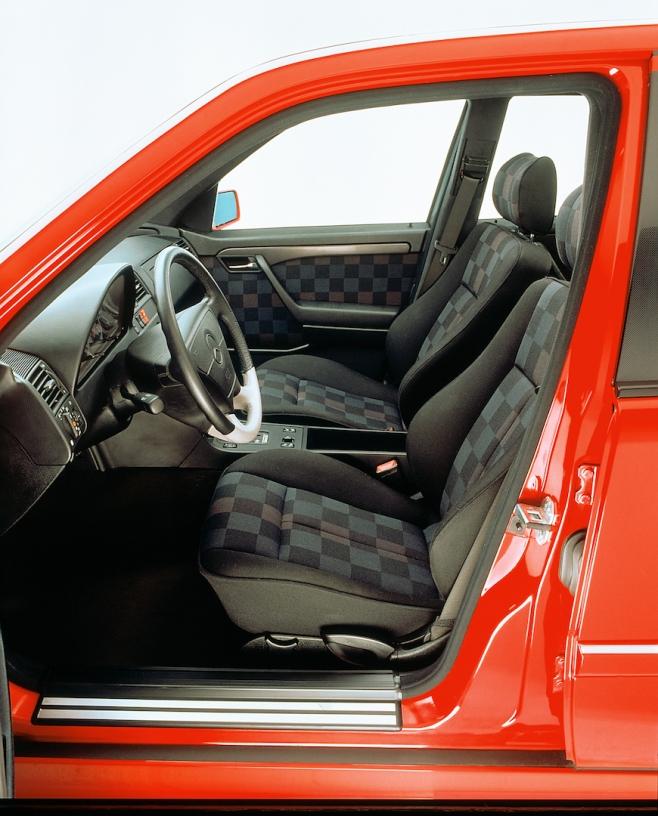 Mercedes-Benz Typ C 36 AMG der Baureihe 202, 1993–1997.